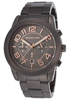 Michael Kors Men's Chronograph Gunmetal IP Steel and DialMichael Kors MK8330 Watch