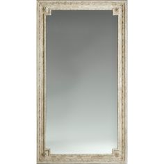 Large French Floor Mirror