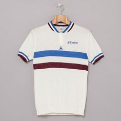 Le Coq Sportif L'Eroica vintage-style cycling shirts.