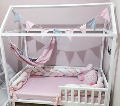 Baby Decor, Girl Room, Bunk Beds, New Baby Products, Toddler Bed, Bedroom Decor, New Homes, Nursery, House