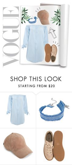 """Pale blue🌊"" by andronic-otilia ❤ liked on Polyvore featuring INC International Concepts, rag & bone, Nly Shoes and Old Navy"