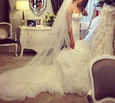 steven khalil wedding dress | steven khalil custom design size 8 wedding dress for sale $ 9500 $ ...