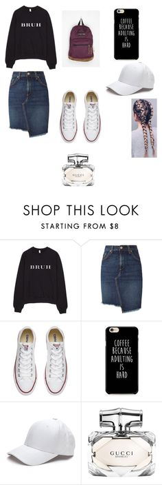 """""""2016 Style Pentecostal Version"""" by kenziepentecostal ❤ liked on Polyvore featuring rag & bone, Converse, Victoria's Secret and Gucci"""