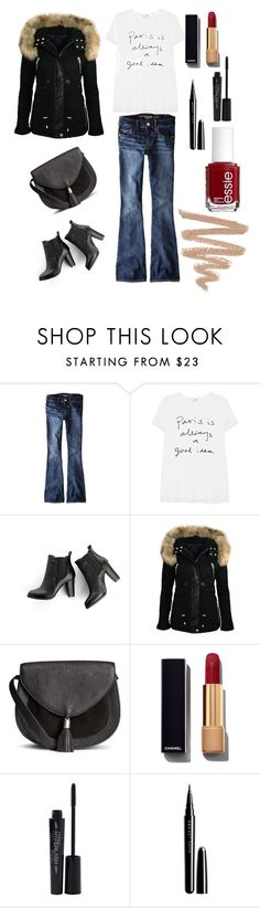 """Paris"" by regnovo on Polyvore featuring moda, American Eagle Outfitters, Sundry, SWEET MANGO, Chanel, Essie, Smashbox e Marc Jacobs"