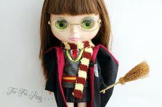 Blythe Harry Potter Set uniforme de l'école par TeaForParty sur Etsy