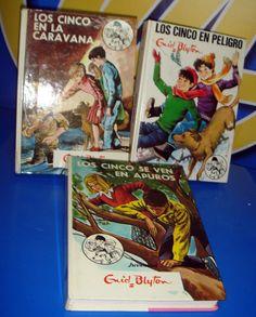 Libro 3 libros de LOS CINCO nº 27-29-38- ENID BLYTON