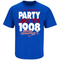 Chicago Cubs Fans. 2016 Champions - Party Like It's 1908. Youth T-Shirt