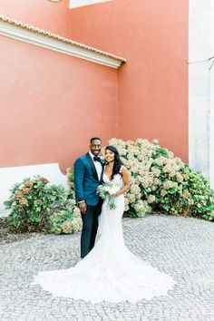 Intimate Destination Wedding at Ritz Carlton Penha Longa Destination Wedding, Wedding Venues, Perfect Pink, Mermaid Wedding, Portugal, Wedding Dresses, Fashion, Wedding Places, Bride Gowns