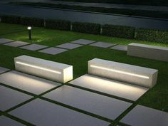 Have you just bought a new or planning to instal landscape lighting on the exsiting house? Are you looking for landscape lighting design ideas for inspiration? I have here expert landscape lighting design ideas you will love. Landscape Lighting Design, Modern Landscape Design, Landscape Architecture Design, Modern Landscaping, Landscaping Software, Landscaping Design, Urban Furniture, Street Furniture, Outdoor Furniture Sets