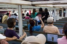 On the Boat from Asakusa to Hama Rikyu, Tokyo