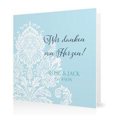 Dankeskarte Cambridge Classic in Eisvogel - Klappkarte quadratisch #Hochzeit #Hochzeitskarten #Danksagung #elegant #Foto #vintage https://www.goldbek.de/hochzeit/hochzeitskarten/danksagung/dankeskarte-cambridge-classic?color=eisvogel&design=02c43&utm_campaign=autoproducts