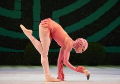 "Flamingo from the Royal Ballet's ""Alice's Adventures in Wonderland"""