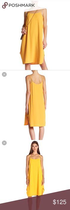Trina Turk yellow flowy dress Trina Turk yellow flowy dress with adjustable spaghetti straps. This color is GORGEOUS! Size M. Brand new with tags. Trina Turk Dresses