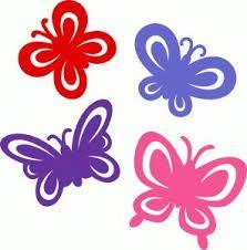 Resultado de imagem para borboleta silhouette
