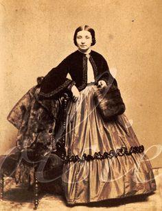 Lady with furs. By K.W. Beniczky of New York