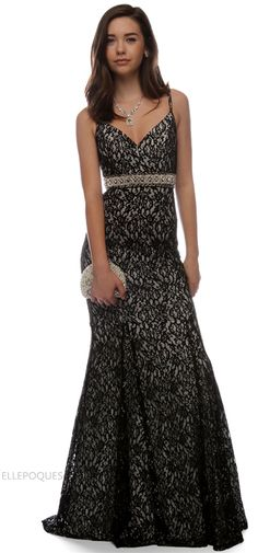 d1eee8d3cf Mermaid Evening Dresses Lace With Beadings V Neck Prom Dresses