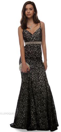 a3021517595a9 2015 v neck prom dresses sheath lace with sash sweep train open back 53378  - EllePoques.com