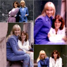 More pictures of Agnetha and Frida from a photo shoot which took place during May 1975... #Abba #Agnetha #Frida http://abbafansblog.blogspot.co.uk/2017/05/photo-shoot_3.html