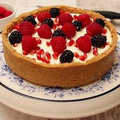 This easy to make no-bake cheesecake recipe does wonders for guests when they pop around! Baked Cheesecake Recipe, No Bake Cheesecake, Hazelnut Cake, Condensed Milk, Mini Cakes, Chocolate Recipes, Chocolate Fudge, Tray Bakes, Cooking Recipes