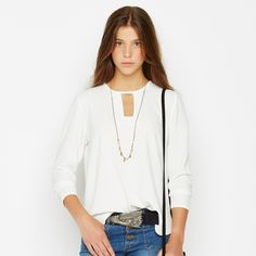 Shirt to impress!!! #nicoli #nicolimoda #cool #nice #lomasin #lovely #newcollection #fall #winter #awesome #cool #nice #lomasin #waitingforyou #fashion #moda #shirt #accessories #belt   http://www.nicoli.es/tienda/CAMISA-RECTANGULO-CRUDO.html