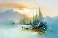 HONG LEUNG  Love watercolors