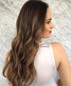 Light Brown Highlights For Dark Brown Hair
