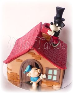 Let me in , let me in - by MiSsTartas @ CakesDecor.com - cake decorating website