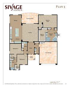 Sivage Homes 3.0 floor plan