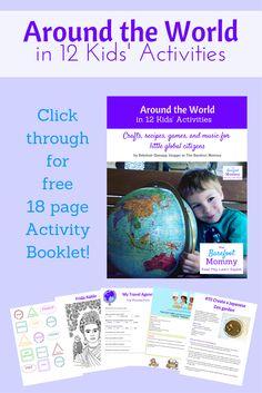 Global Citizen Activities   Global Citizenship for Kids   Summer Bucket List   Around the World Crafts