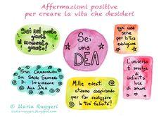 affermazioni positive - © Ilaria Ruggeri