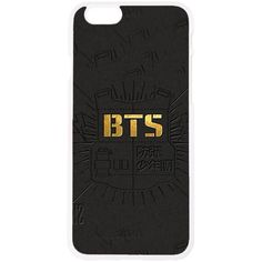 BangtanBoys Suga J-HOPE Jinmin V Rap monster Office Logo Phone Case... ($13) ❤ liked on Polyvore featuring accessories, tech accessories y prepaid smartphones