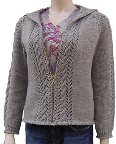 3006034075ccfa Ravelry  bella hoodie pattern by Cheri Christian Hoodie Pattern