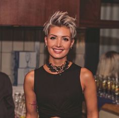 Coolest Short Pixie Cuts and Hairstyles Trends in Trendy hairstyles and colors Women hair colors; Hairstyles 42 Coolest Short Pixie Cuts and Hairstyles Trends in 2019 Short Pixie Haircuts, Pixie Hairstyles, Short Hairstyles For Women, Trendy Hairstyles, Short Hair Cuts For Women Over 40, Short Pixie Cuts, Messy Pixie Haircut, Pixie Haircut Styles, Short Sassy Hair