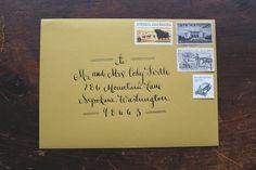 Rustic-Woodsy-Faux-Bois-Wedding-Invitations-La-Happy-Envelope-Calligraphy
