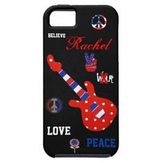 Love &  Peace   iPhone 5 Vibe Cases iPhone 5 Covers