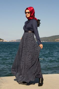 CODE NUMBER:5001L  www.globalhijabtrends.com    To order this dress in retail or wholesale send an email to info@neva-style.com.