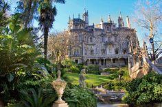 Palácio da Regalera, na Quinta da Regalera, em Sintra. http://fuievouvoltar.com