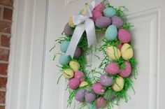 Spring Wreaths | was doing a search on a spring or easter door wreaths and came ...