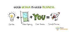 """ Good Design is Good Business """