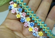 Beaded Turkish love knot crochet at Emily's Secret Passion blog.  2504201311408.jpg (800×550)