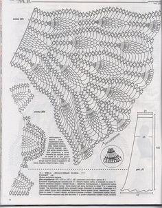 Журнал мод №566 2013 — Яндекс.Диск Crochet Patterns Free Women, Crochet Poncho Patterns, Dress Sewing Patterns, Coat Patterns, Skirt Patterns, Blouse Patterns, Crochet Summer Tops, Crochet For Kids, Crochet Woman