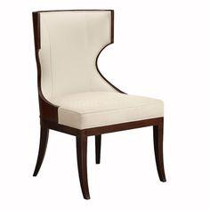 餐椅 进口实木+布艺软包 FDK810C W610*D650*H965 mm