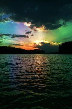 ✮ Rainbow Sunset - Awesome Capture!