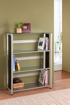 Homelegance Network Bookcase in Champagne Finish $149.00