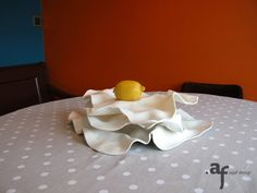 Agaf Design Crispy Plates on a dining table