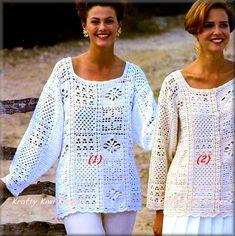 Vintage-Inspired Crochet Granny Square by KraftytKiwiKorner