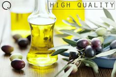 Extra-virgin olive oil comes from virgin oil production only, and is of higher quality.