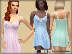 Sims 4 CC's - The Best: Sleepwear by Bukovka