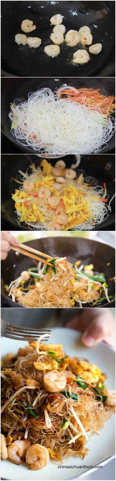 Homestyle Mai Fun, a homestyle chow mai fun   ChinaSichuanFood.com