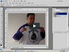 a real short video explaining the basic use of a mask in PhotoShop